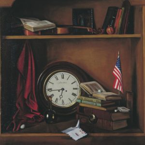 A letter from America. 1988, oil on canvas, 100x80 (Private Collection, Boston)