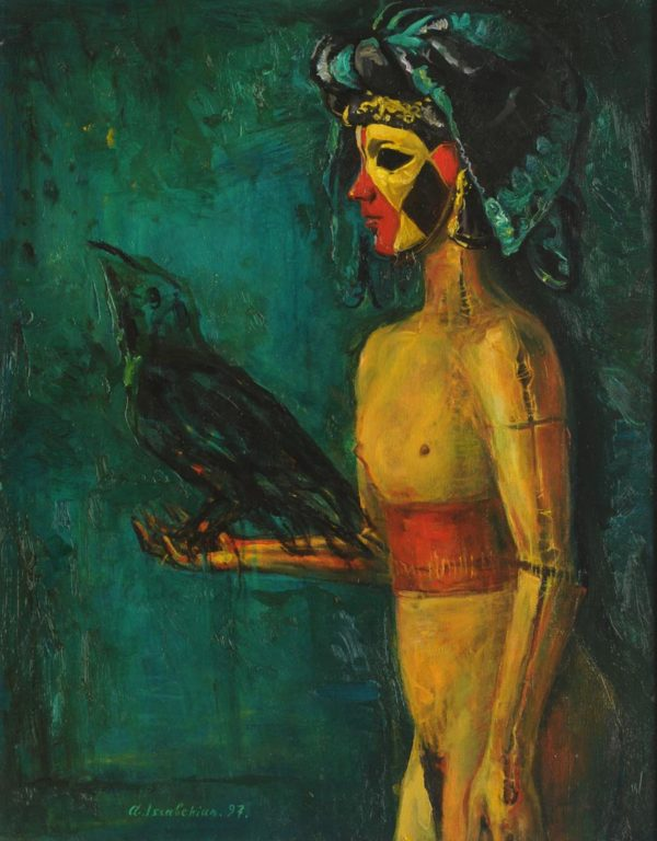 The Witch. 1997, oil on canvas, 74x57