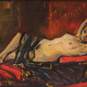 The Odalisque. 1999, oil on canvas, 30x40