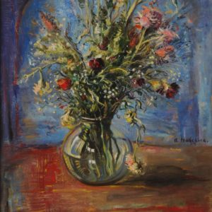 Bunch of Flowers. 1994, oil on canvas, 60x50