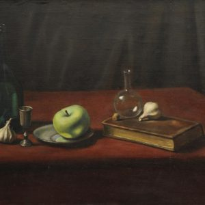 Still Life. 1974, oil on canvas, 55,5x80