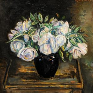 White Roses. 2010, oil on canvas, 42,5 x 41