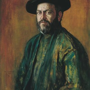 Portrait of Paravon Mirzoyan. 1997, oil on canvas, 90x70 (National Gallery of Armenia)