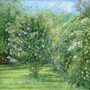 Summer Day. 2011, oil on canvas, 70x70