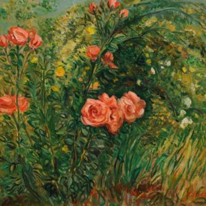 Roses. 2010, oil on canvas, 63x70