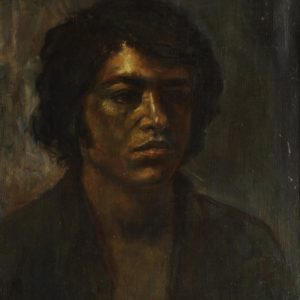 Self-Portrait. 1974, oil on canvas, 44x37