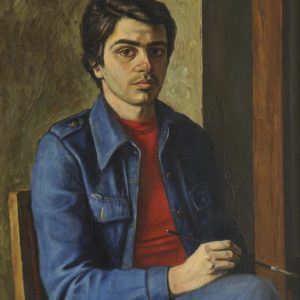 Self-Portrait. 1979, oil on canvas, 80 x 60 (National Gallery of Armenia)