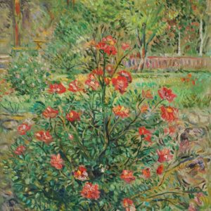 A Bush in Blossom. 2010, oil on canvas, 61x50,5