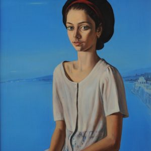 Portrait of Anna. 1997, oil on canvas, 81x67