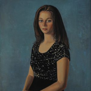 Varvara. 1999, oil on canvas, 60x50 (A. Kirakosyan Collection, Yerevan)