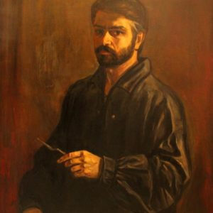 Portrait of Aram Isabekyan, oil on canvas
