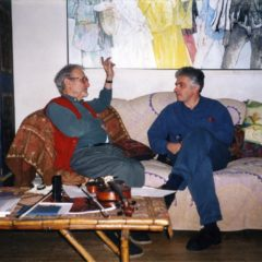 In Jeansem's studio. Paris. 2001
