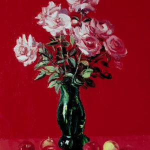 Roses․ 1998, oil on canvas, 70x60