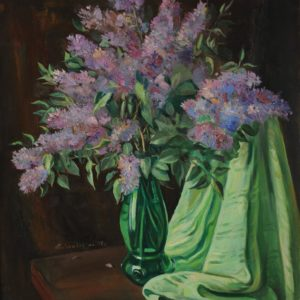 Lilacs․ 1997, oil on canvas, 75x70