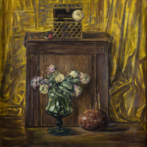 Still Life with Withered Roses. 2005, oil on canvas, 76x70