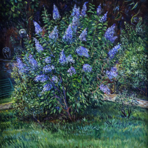 A Lilac Tree. 2011, oil on canvas, 70x63