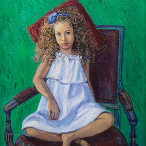 Little Alexandra. 2013, oil on canvas, 40x50