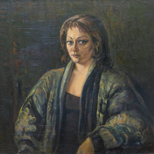 Portrait of a woman․ 1997, oil on canvas