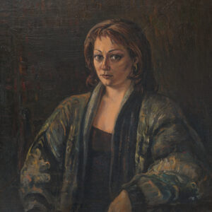 Portrait of a woman. 1999, oil on canvas, 70x75